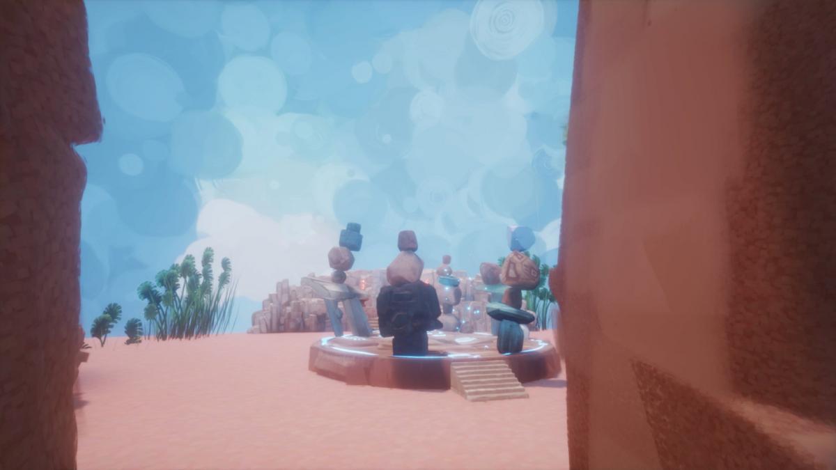 Тестируем нашу поделку в игровом режиме / скриншот