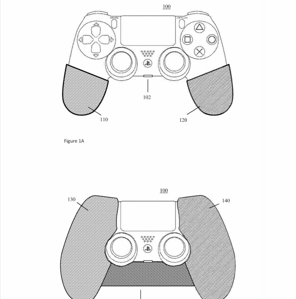 Изображение геймпада в патентной заявке / respawnfirst.com