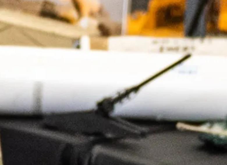 Макет орудия комплекса SLRC / Linkedin