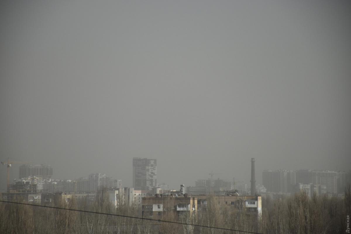 В Одессе ветер усиливается / фото Думская