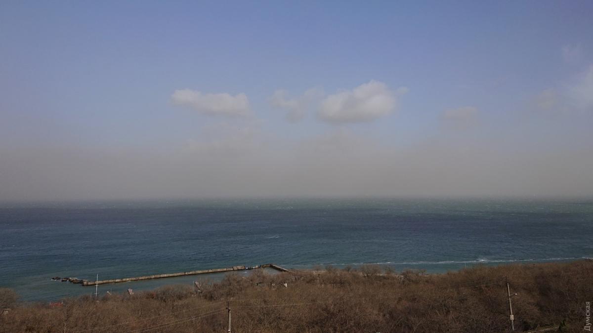 С моря надвигается буря / фото Думская