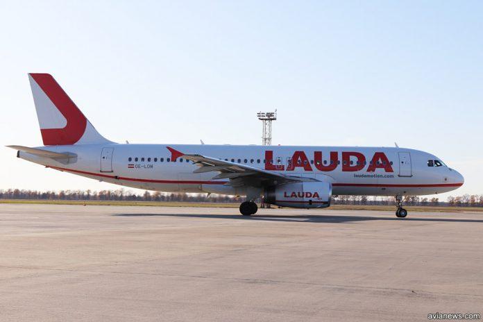 Laudamotion продает бюджетные билеты в Вену / avianews.com