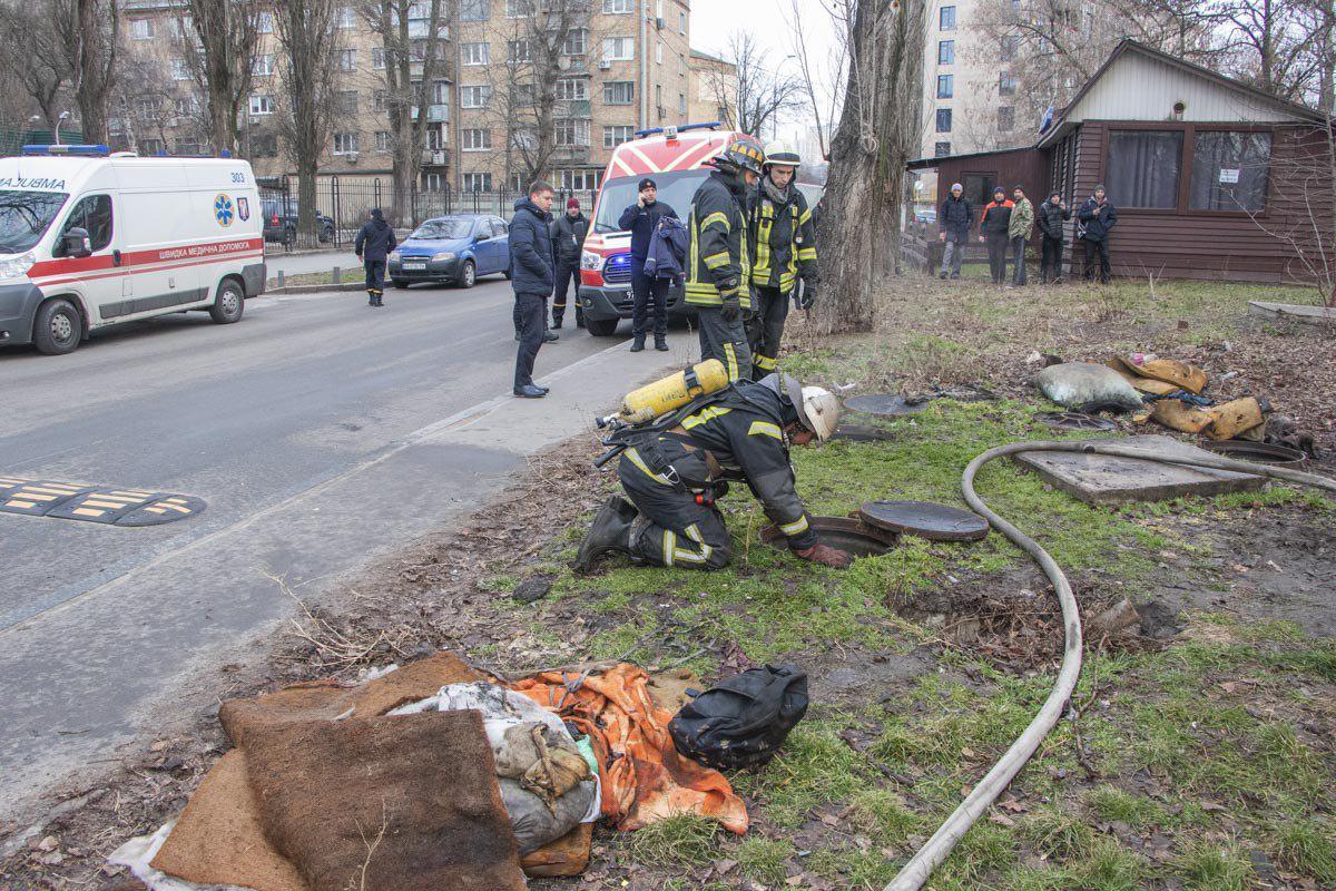 Во время пожара в теплотрассе нашли тела трех человек / Фото: ГСЧС