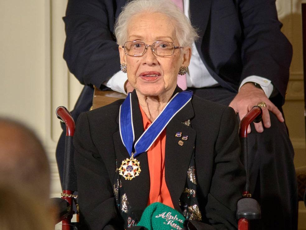 В 2015 году Барак Обама вручил Кэтрин Джонсон президентскую медаль Свободы\NASA