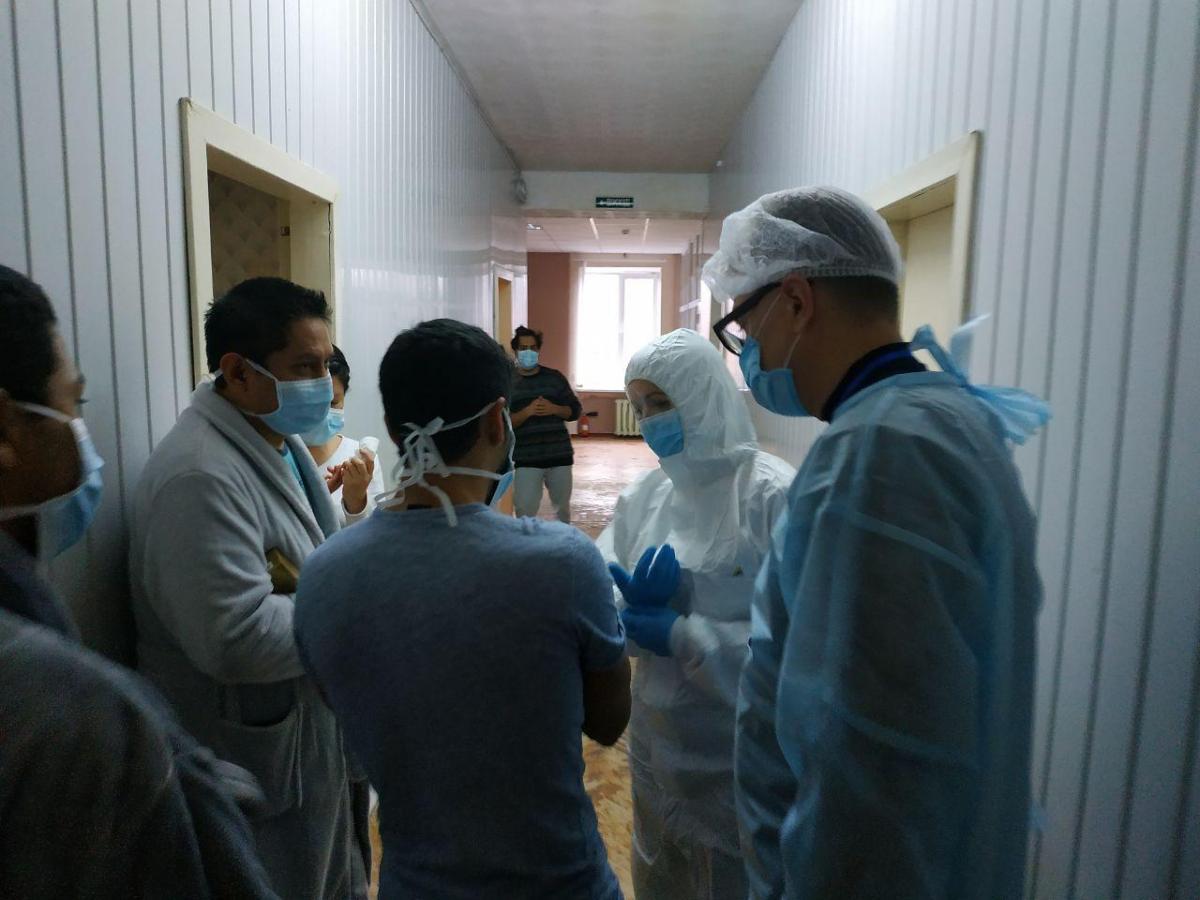 Пациенты, инфекция у которых подтверждена, изолированы и находятся под меднаблюдением/ facebook.com/zoryana.chernenko