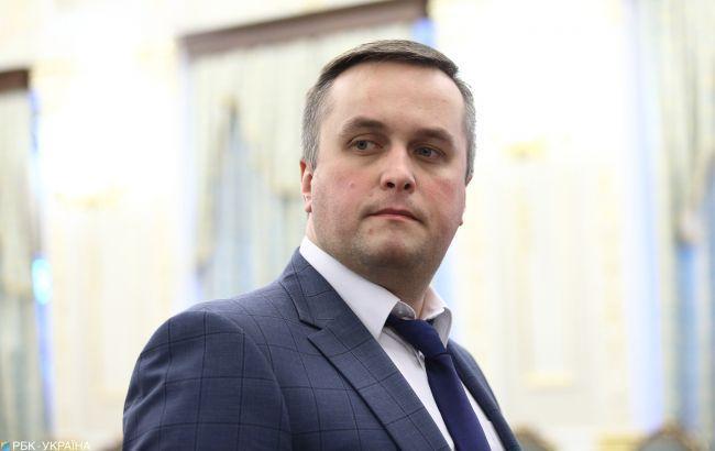 Назар Холодницкий прокомментировал резонансный вопрос пребывания на должности директора НАБУ Артема Сытника / фото РБК
