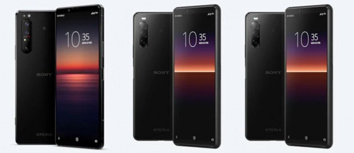 Sony представила новые смартфоны / фото Sony