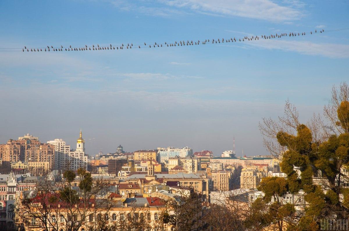 Сьогодні в Києві потеплішає / УНІАН