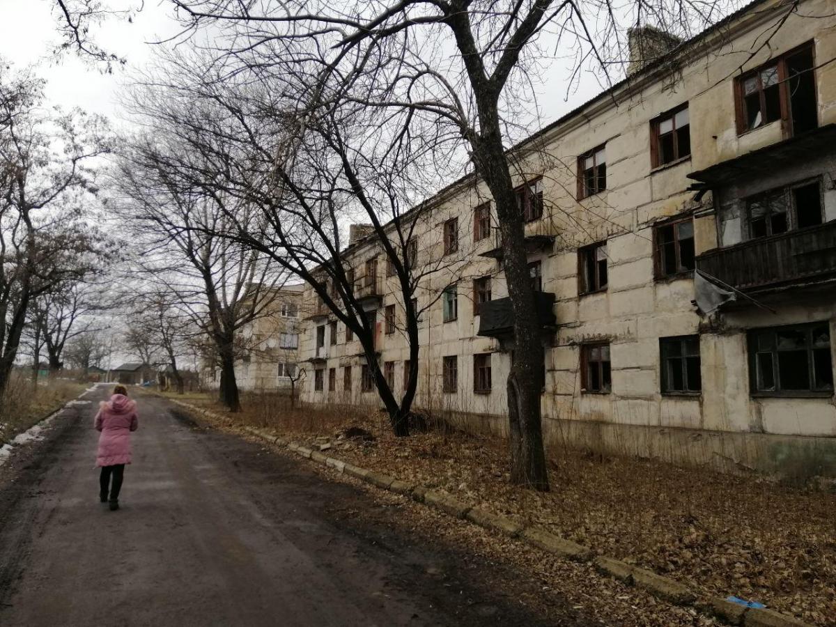 Женщину доставили в городскую больницу города Торецк \ Фото УНИАН