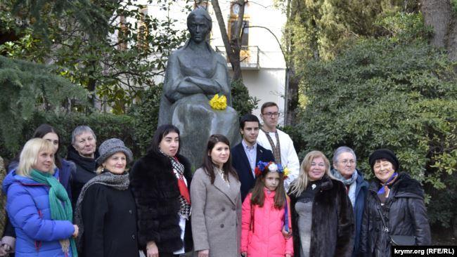 День рождение Леси Украинки в Ялте / фотоkrymr.com