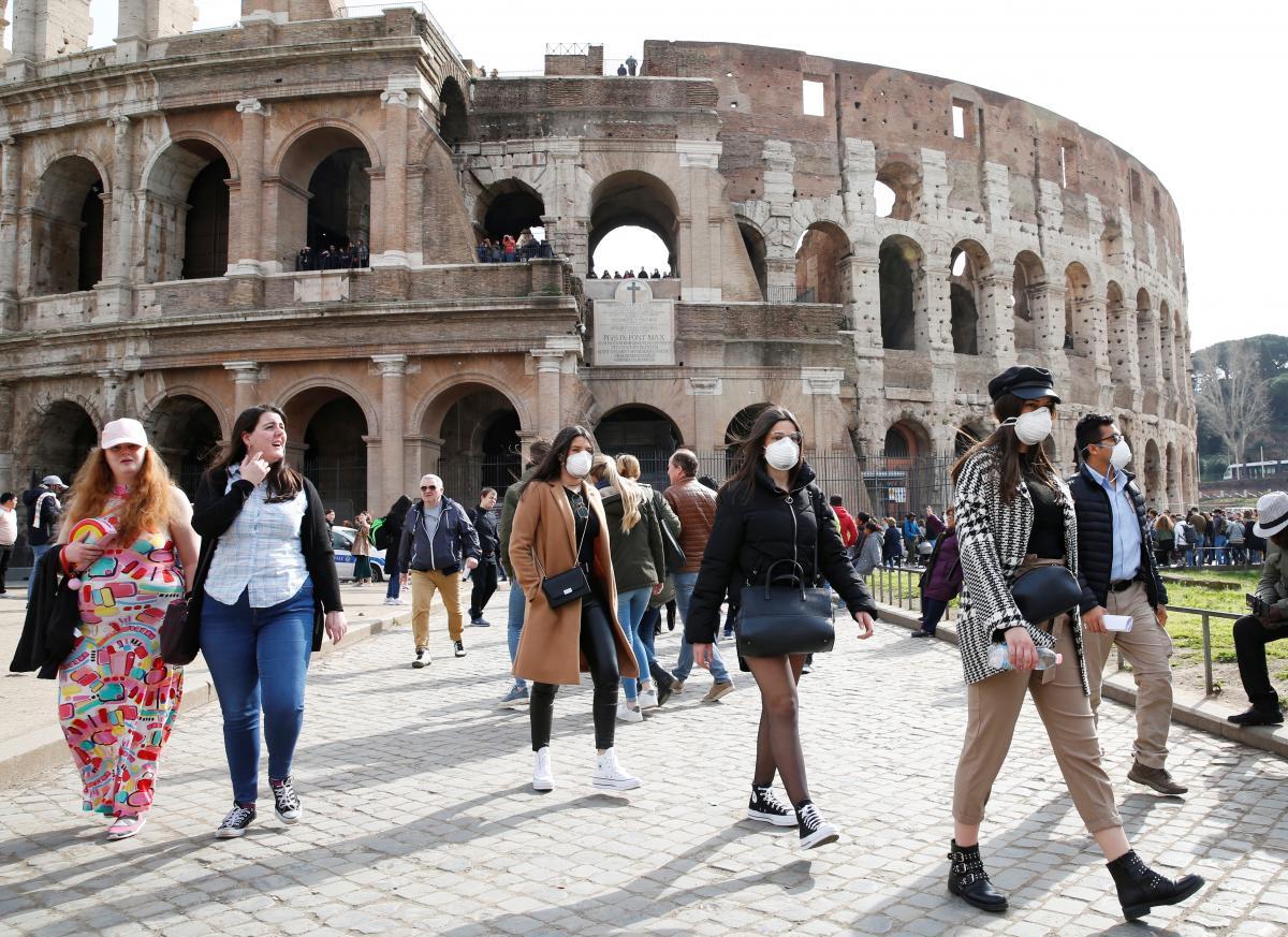 """Невдовзі знаменитий римський Колізей """"заговорить"""" українською / ілюстрація REUTERS"""