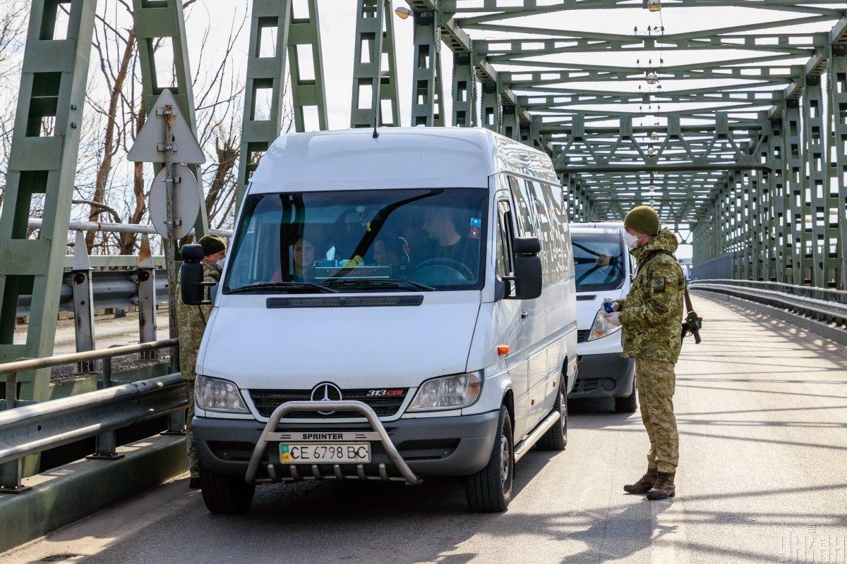 В автобусе находились граждане из разных областей Украины / фото УНИАН
