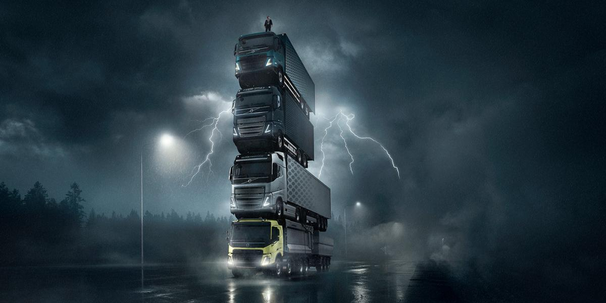 На постройку конструкции ушло около одного месяца / фото Volvo Trucks