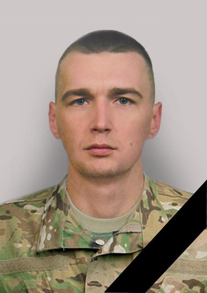 На Фронті загинув Дмитро Гринь /Фото: facebook, Микола Нога