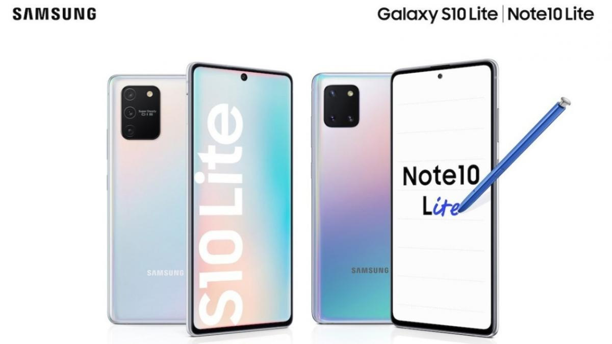 Samsung Galaxy S10 Lite доступен по цене 15 999 грн / фото Samsung