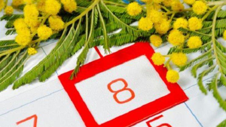 8 марта в Украине ежегодно празднуют сотни тысяч женщин