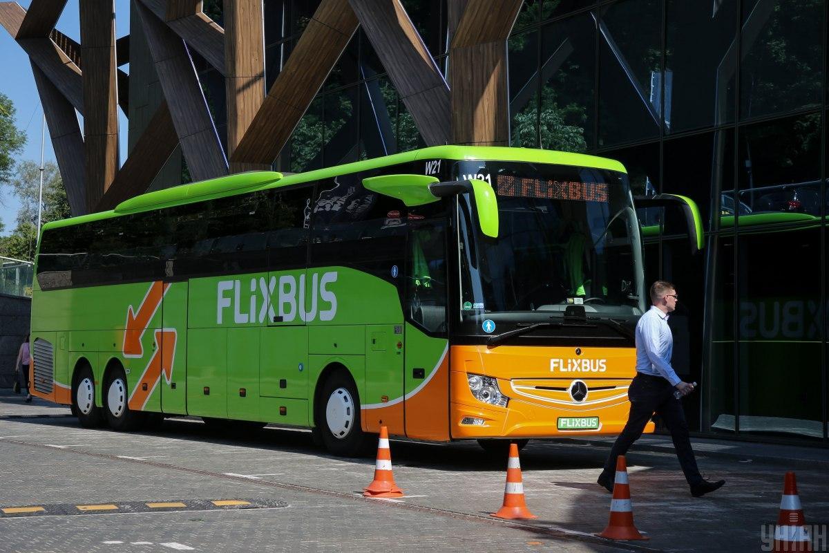 Німецький FlixBus має намір продовжувати розвиватися на українському ринку / Фото УНІАН