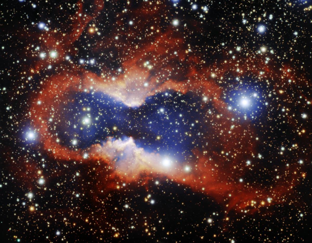 Туманность CVMP 1 одна из крупнейших среди тех, о которых знает человечество / Gemini Observatory
