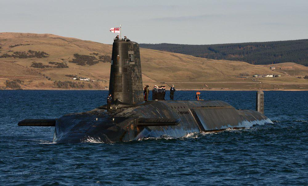 """Лондон вирішив оновити МБР, якими озброєні підводнічовникласу """"Венгард"""" / фото flickr.com/defenceimages"""