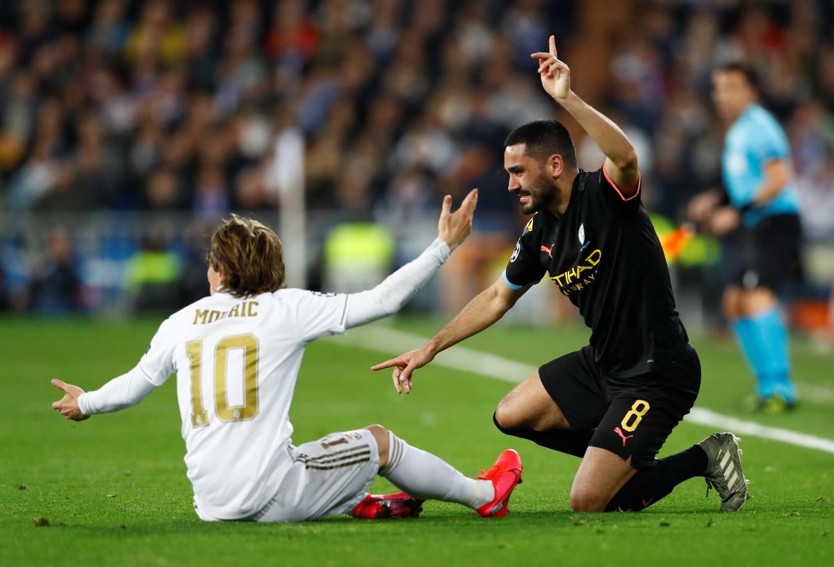 Реал - Манчестер Сити / REUTERS