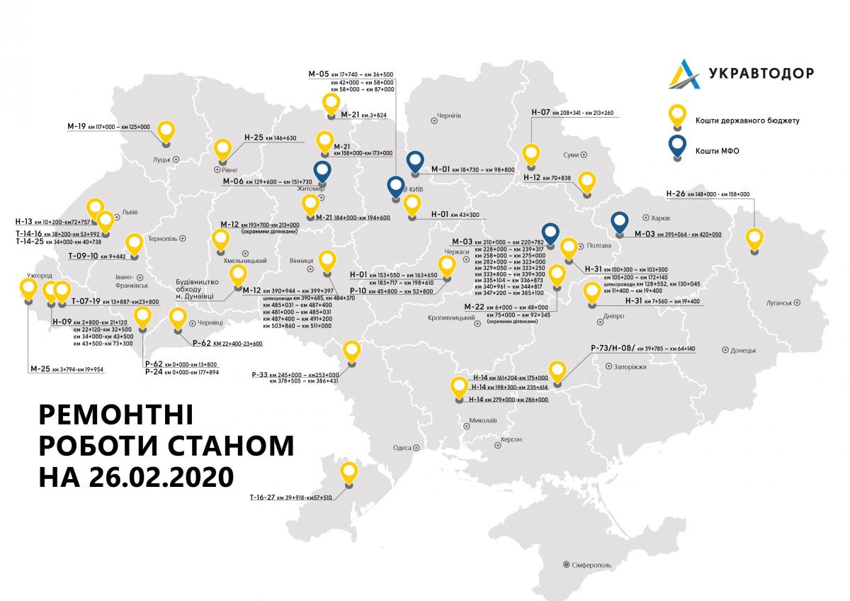 фото ukravtodor.gov.ua