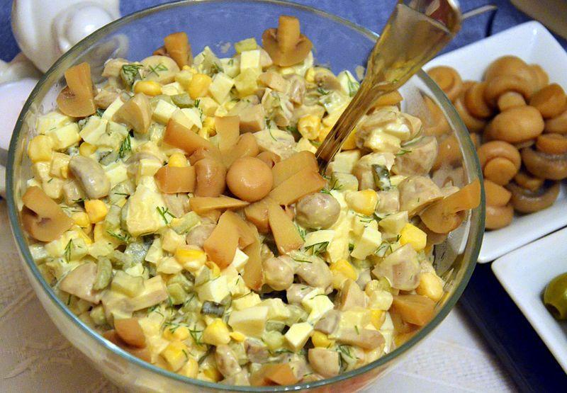 Блюда из вешенок - лучшие рецепты / фото commons.wikimedia