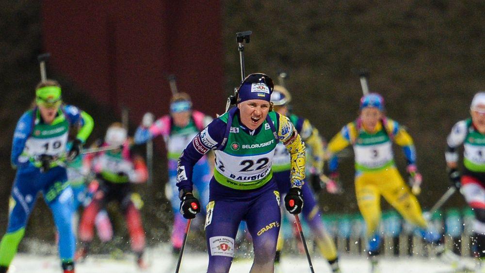 Меркушина выступила в паре с Ткаленко / фото: biathlon.com.ua