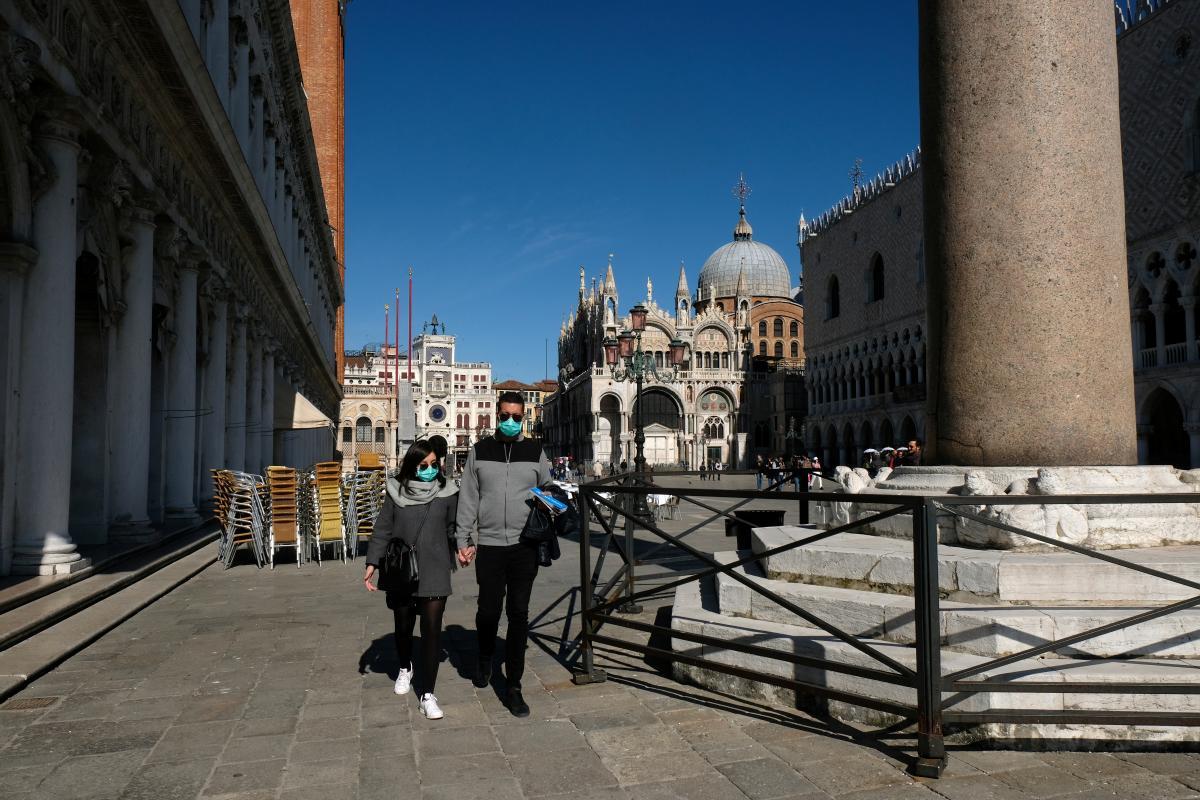 Італія - четвертий найбільший осередок коронавіруса в світі / REUTERS