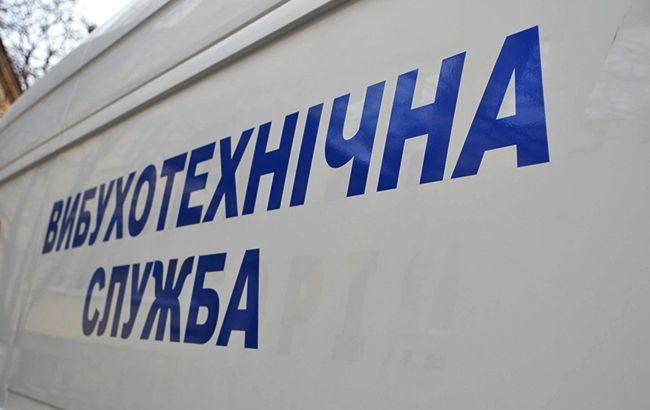 """В Одессе """"заминировали"""" суд / facebook.com/vts.rovno"""