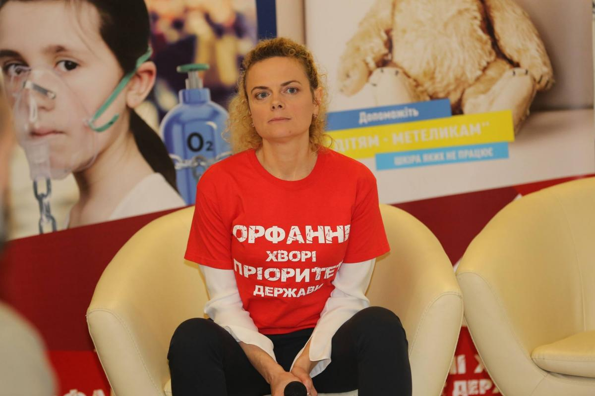 """Тетяна Кулеша розповіла, що У світі офіційно визнають до семи тисяч рідкісних орфанних захворювань / Facebook, ГС """"Орфанні захворювання України"""""""