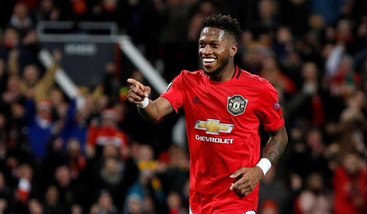 Фред, Манчестер Юнайтед / REUTERS