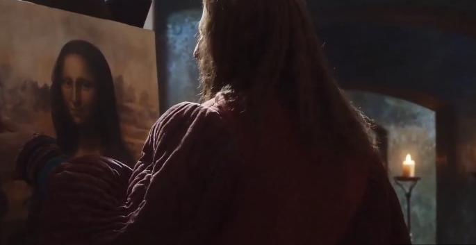 Фильм подойдет ценителям произведений да Винчи и итальянской живописи / скриншот