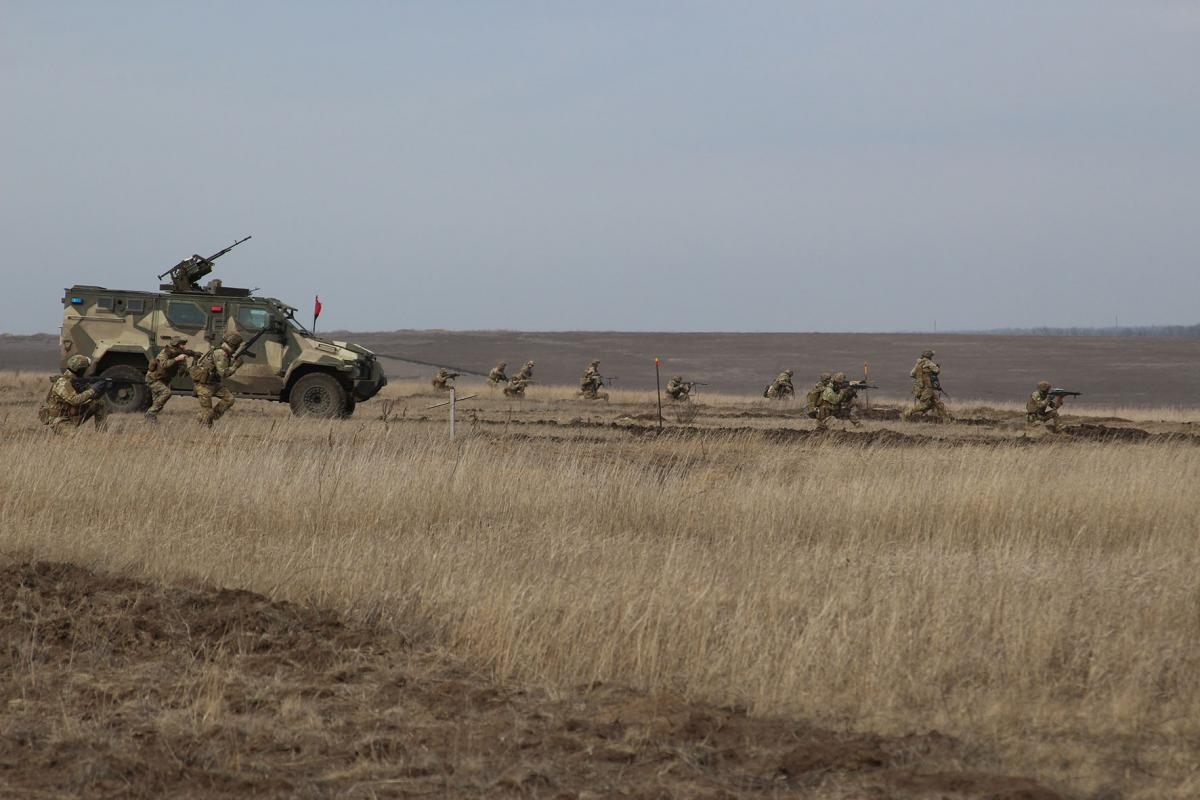Situation in Donbas / Photo from the Joint Forces Operation's Headquarters