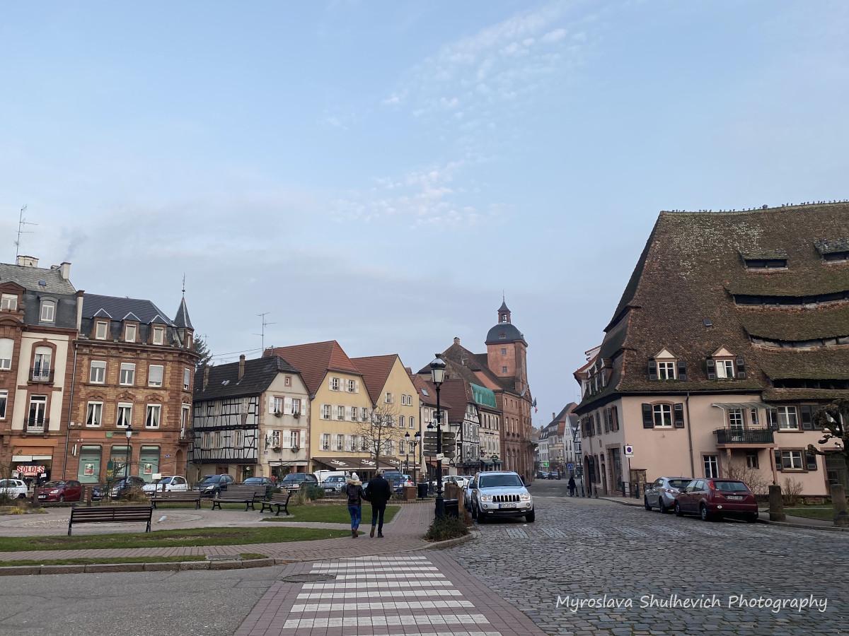 Віссембург – маленьке французьке містона краю Ельзасу / фото Myroslava Shulhevich
