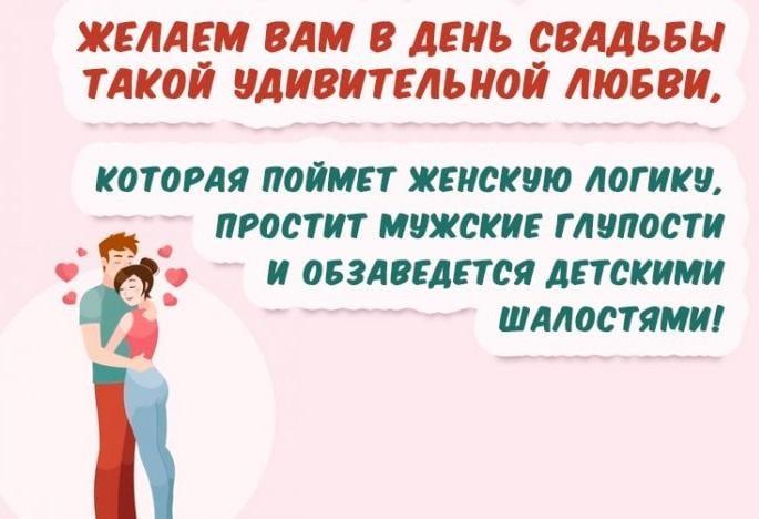 Тост - это прекрасный способ сказать молодоженам много приятных слов \ swoj.ru