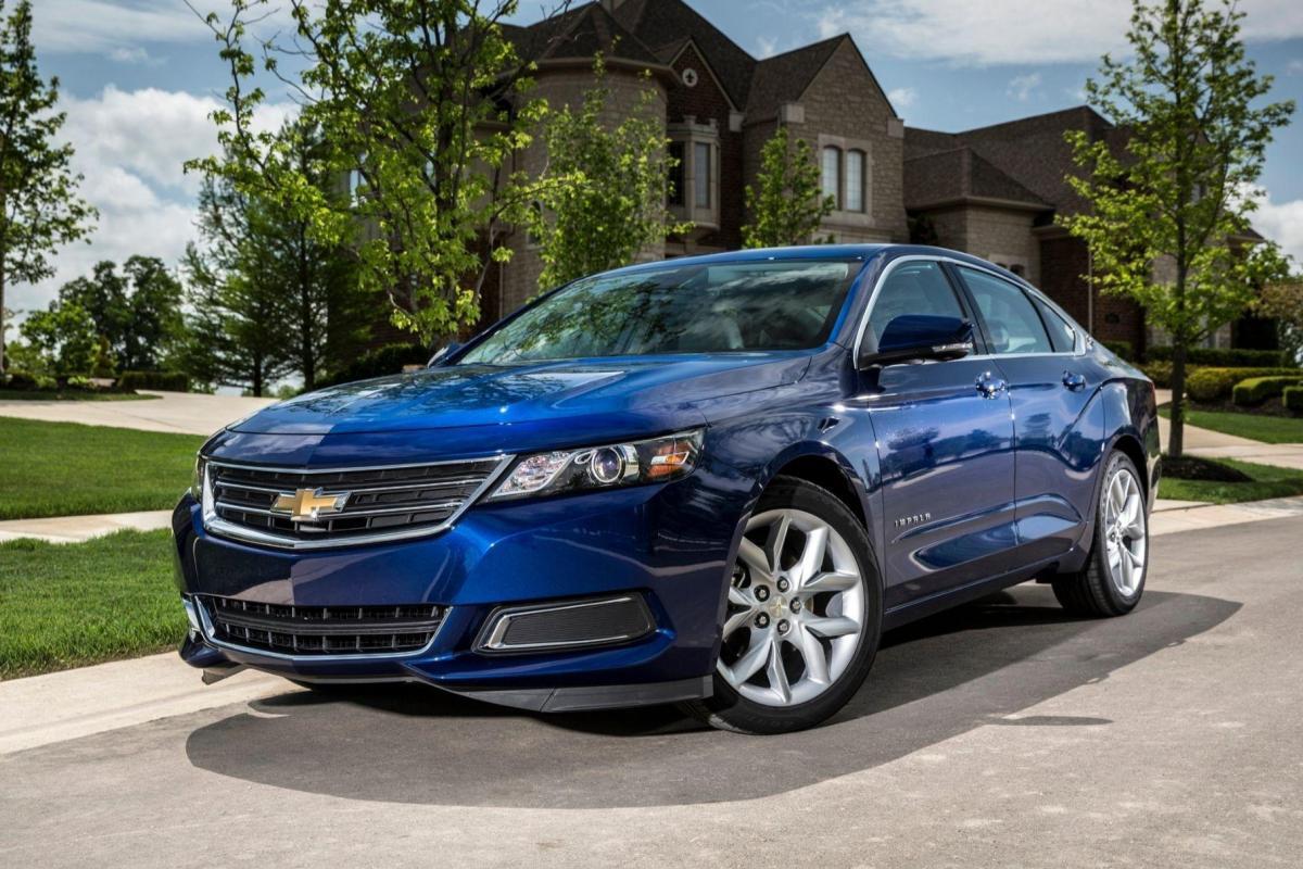 Прекращено производство одной из самых известных моделей Chevrolet / фото Chevrolet