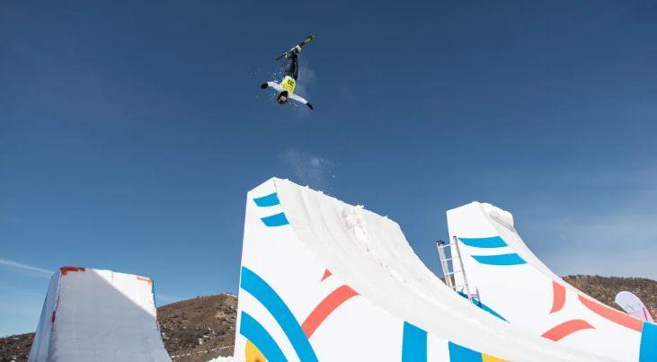 Прыжок Надежды Мохнацкой / фото: fis-ski.com