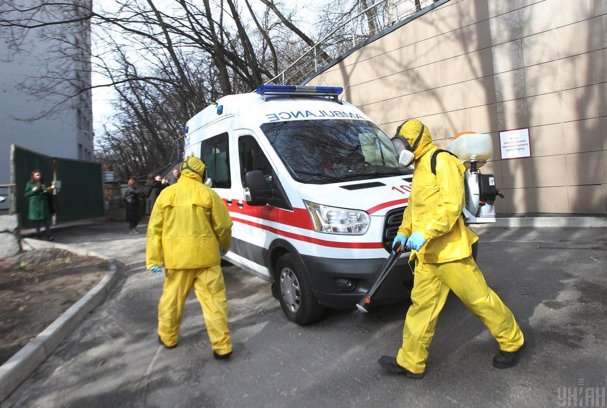 О случае обнаружения коронавируса сообщили на брифинге / фото УНИАН