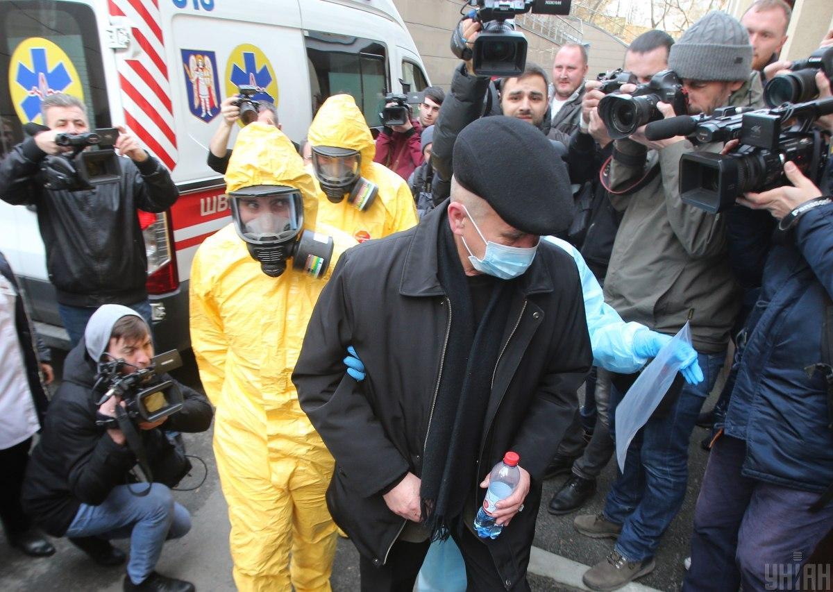 Украина не готовак такому количеству больных, как в Испании или Италии/ фото УНИАН