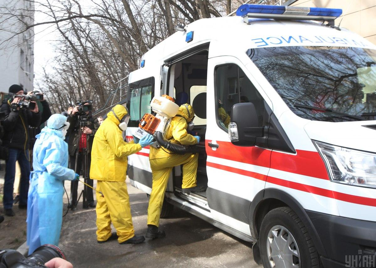 Состояние инфицированных коронавирусом украинцев улучшается, уверяют в ОГА / фото УНИАН