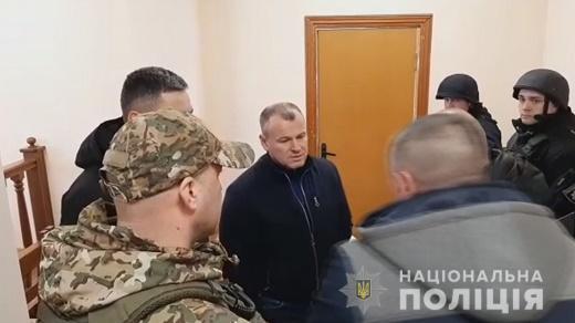 Злоумышленник держал судей в заложниках около двух часов / od.npu.gov.ua