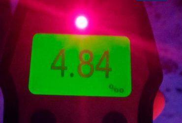 Ходячий мрець: на Кіровоградщині вміст алкоголю в крові у водія у 25 разів перевищив норму