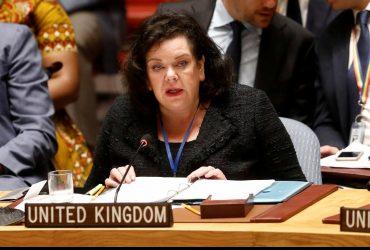 Британия на Совбезе ООН обвинила Россию в постоянной лжи о войне на Донбассе