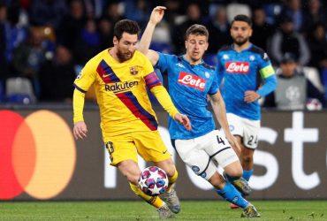 Наполи - Барселона: онлайн матча Лиги чемпионов