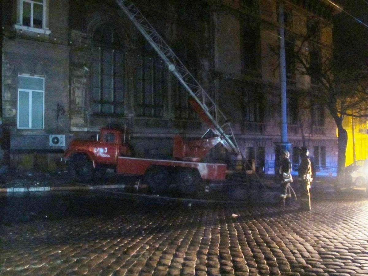 В Одессе произошел масштабныйпожар / od.dsns.gov.ua