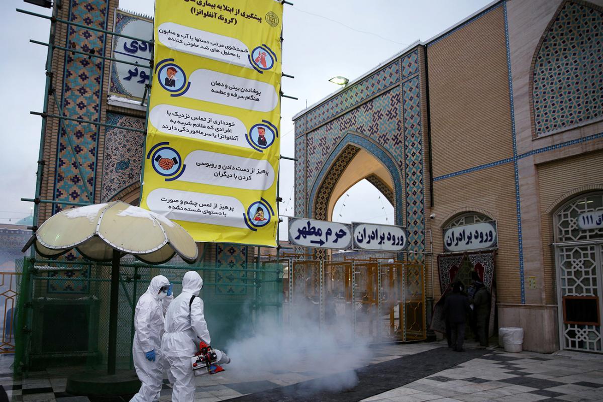 В Иране бушует эпидемия коронавируса / REUTERS