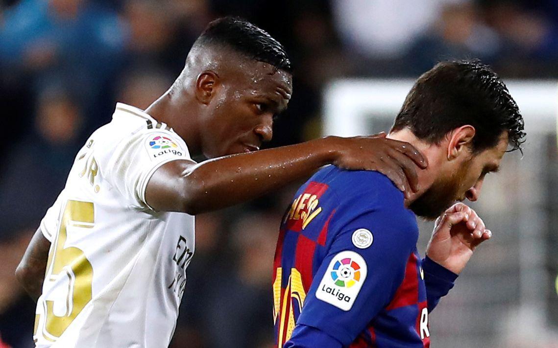 Реал - Барселона, Винисиус Джуниор и Лионель Месси