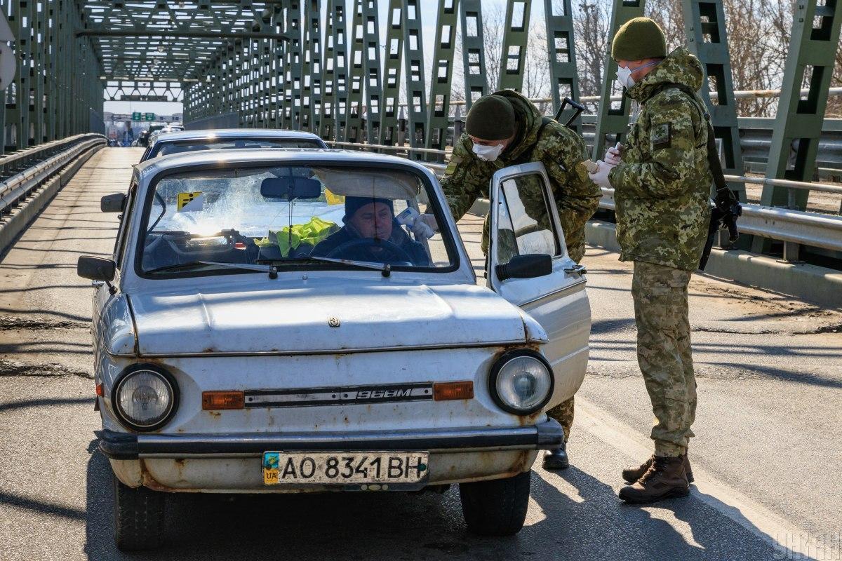 Водителям будут измерять температуру на въездах в Черновцы / фото УНИАН