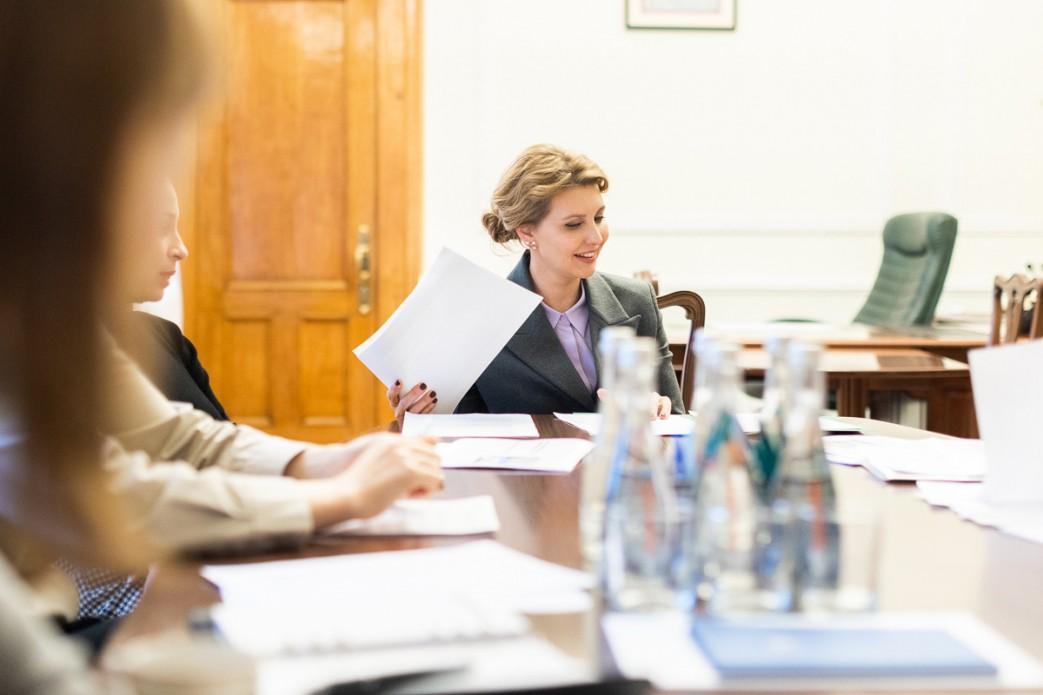 У Елены Зеленской подтвердили коронавирус / president.gov.ua