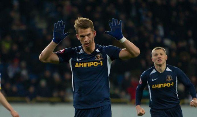 Супряга забил 9 голов в нынешнем сезоне / фотоfacebook.com/sportclubdnipro1